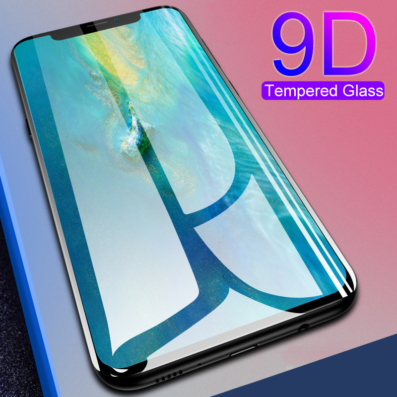 9D Full Cover Tempered Glass For Huawei Mate 9 10 20 30 Lite Screen Protector On Mate9 Mate10 Mate20 Mate30 Protective Glas Film
