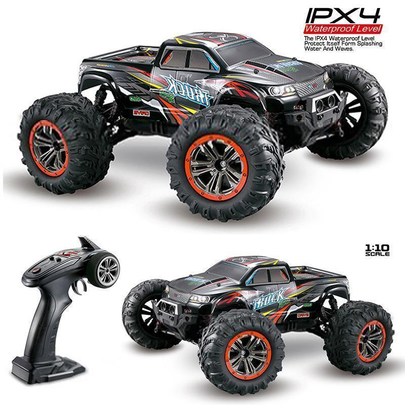 Xinlehong 9125 <font><b>Rc</b></font> Car 2.4g 1:10 <font><b>1/10</b></font> <font><b>Scale</b></font> Racing Cars Car Supersonic Monster Truck Off-road Vehicle Buggy Electronic Toys image