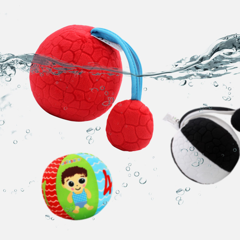 0 To 12 Months Newborn Baby Toys Infant Baby Early Development Touch Ball Black White Colorful Plush Balls SZ66