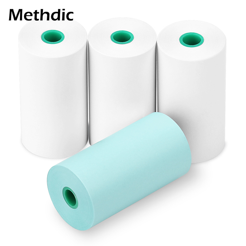 Methdic Three White And One Color  57 X 30mm Cash Register Roll Paper For POS / ATM Machine