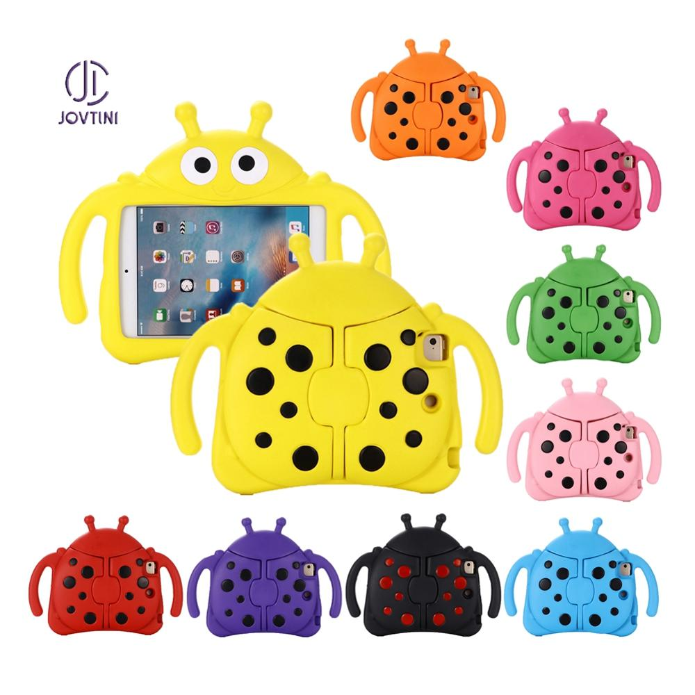 Kids Case For iPad mini 1 2 3 4 5 safe Non-toxic Cartoon Beetle Shockproof Kids Tablet Cover For iPad mini 1 / 2 / 3 / 4/ 5 Case image