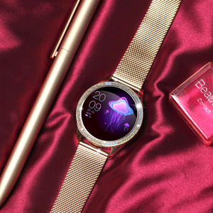 Image 5 - Femmes montre intelligente fréquence cardiaque IP68 étanche podomètre Bluetooth montre rappel dappel Fitness Tracker femme Smartwatch Android
