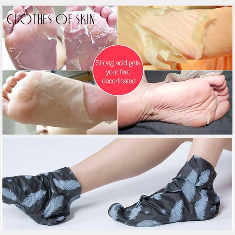 Vulkanischen Schlamm Entfernen Peeling Fuß Maske Socken Nicotinamid Bleaching Feuchtigkeits Anti-Aging Maske Serum Handschuhe Haut Care1Pairs