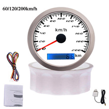 Speedometer-Gauge Motorcycle Gps-Antenna Boat Car with 60/120/200km/h IP67 Waterproof