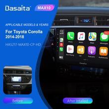 10 2 #8222 multimedialny samochód Android 10 dla Toyota Corolla 2014 2015 2016 Carplay Android Auto TDA7850 wieloekranowy wyświetlacz dotykowy 4GB RAM tanie tanio dasaita CN (pochodzenie) Double Din 10 2 4*50w Other System operacyjny Android 10 0 Dasaita play for Toyota 1024*600 3 5kg