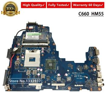 K000111440 PWWAA LA-6842P Main Board For Toshiba C660 C665 Laptop Motherboard DDR3 HM55