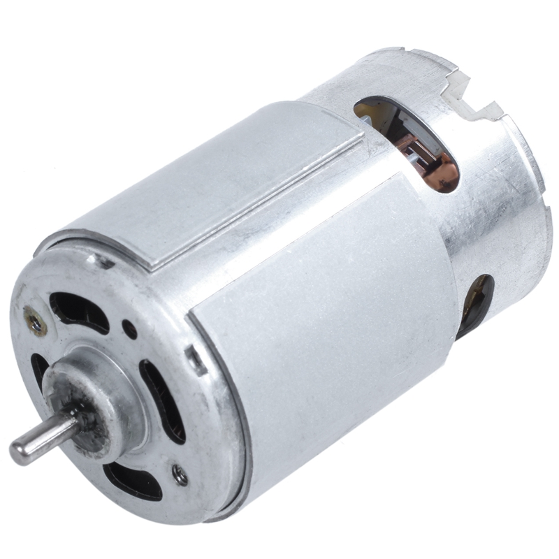 36x54mm Body Magnetic 12V 10000RPM RS550 Garden Tool Magnetic DC Motor image
