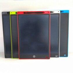Волшебная записи 12-дюймовый ЖК-дисплей планшет детский Стеганный пуховик с рисунками Графика планшет письменный стол маленькая дощатая до...
