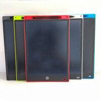 Magie Schreiben 12 Zoll LCD Tablet Kinder Graffiti Skizzenbuch Grafiken Tablet Schreibtafel Kleine Tafel Abwischbar Kreide Her auf
