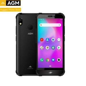 Полнофункциональный AGM A10 IP68 NFC водонепроницаемый прочный телефон 6G 128G Adnroid9 4G lTE 5,7 HD + смартфон