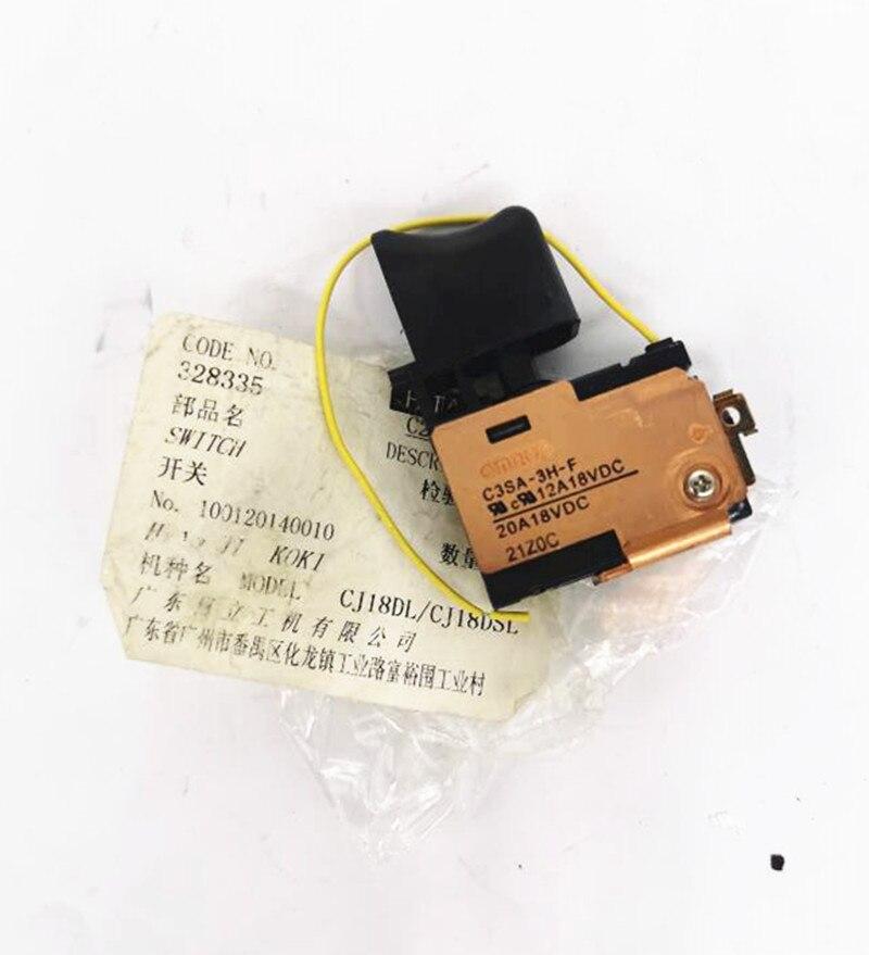 DC-SPEED CONTROL SWITCH 328335 For Hitachi CJ18DSL CJ18DMR CJ18DL CJ14DSL CJ14DMR CJ14DL