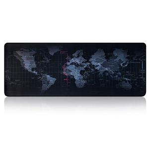 Image 2 - Large Gaming Mouse Pad Gamer World Map Mousepad Anti slip Mause Pad Office Desk Mat Big Computer Mouse Mat Game Keyboard Pad