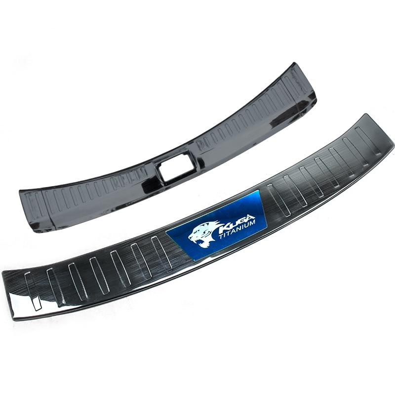 2013-2019 bande décorative spéciale d'acier inoxydable pour le panneau de garde arrière d'évasion de Ford kuga