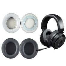 Foam ear pads for Razer Kraken Pro V2 headphones with high quality buckles 3XUE