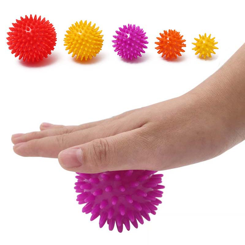 TPE Massage Ball Trigger Point Relief Muscle Pain Stress Sensory Ball Therapy Health Care Gym Sports Fitness Yoga Ball