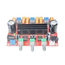 Tpa3116d2 50wx2 + 100 w 2.1 채널 디지털 서브 우퍼 전력 증폭기 보드 12 ~ 24 v 증폭기 보드 모듈