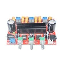 Tpa3116d2 50wx2 + 100 w 2.1 canais placa amplificador de potência subwoofer digital 12 modules 24 v placas de amplificador módulos