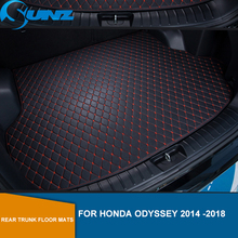new 3d floor mats for ford ecosport 2014 2015 2016 element carfrd00025k delivery from russia Rear Trunk Floor Mats For Honda Odyssey 2014 2015 2016 2017 2018 Leather Rear Cargo Trunk Floor Mats SUNZ
