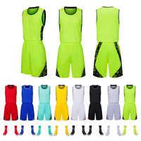 Nuevo traje de pelota deportiva para hombres y mujeres ropa de baloncesto absorbente transpirable y de secado rápido, se puede personalizar.
