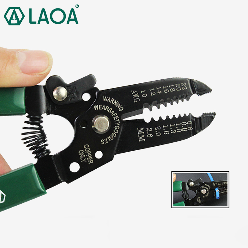LAOA Multifunction Wire Stripping Pliers Professional Electrician's Pliers Needle Nose Pliers