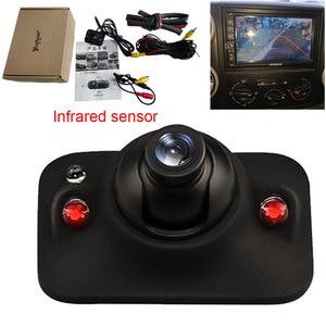 Image 1 - السيارات كاميرا الرؤية الخلفية الأشعة تحت الحمراء وقوف السيارات النسخ الاحتياطي HD CCD للرؤية الليلية مراقبة مقاومة للماء استخدام للسيارة الجانب الأيمن الكاميرا
