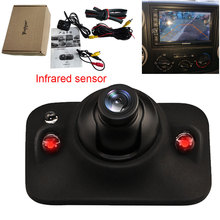 Caméra de recul automatique infrarouge Auto Parking sauvegarde HD CCD Vision nocturne étanche surveillance utilisation pour voiture caméra latérale droite