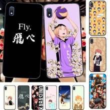 FHNBLJ Haikyuu Hinata Anime Caso de Telefone para Samsung A30s Vôlei 51 71 10 70 20 40 20s 31 10s A7 A8 2018