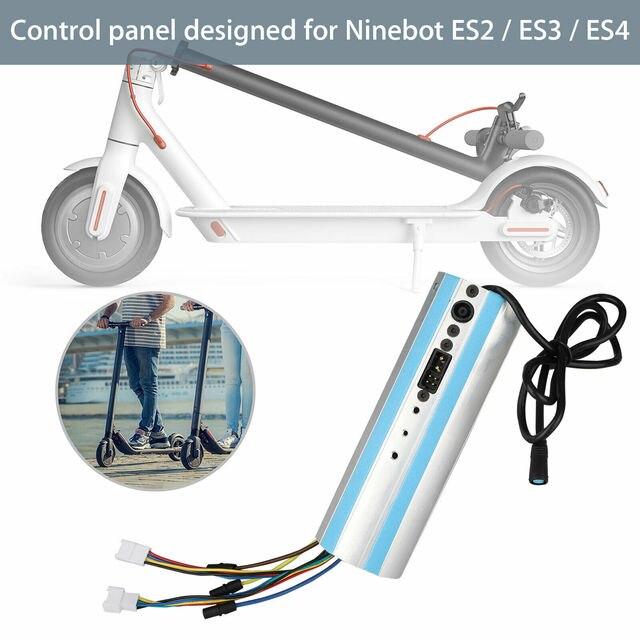 החלפה עבור Ninebot Segway ES1/ES2/ES3/ES4 קטנוע הופעל Bluetooth בקרת לוח מחוונים לוח
