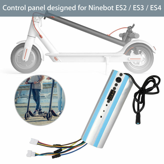 Replacement For Ninebot Segway ES1/ES2/ES3/ES4 Scooter Activated Bluetooth Dashboard Control Board
