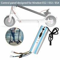 Substituição para ninebot segway es1/es2/es3/es4 scooter ativado bluetooth painel de controle|Peças e acessórios p/ scooter| |  -