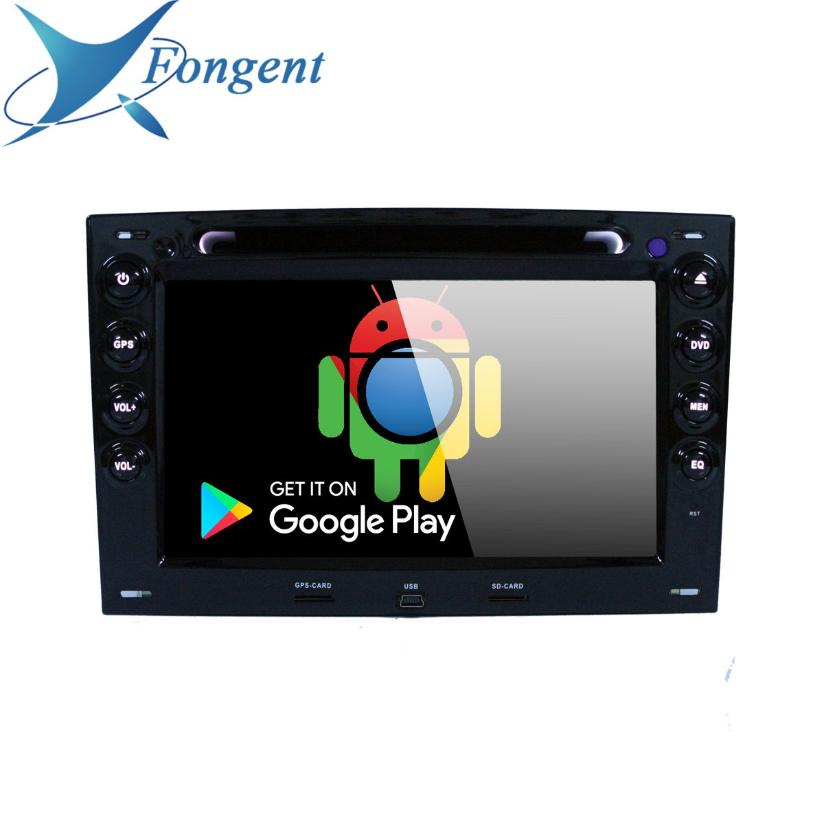 for Renault Megane <font><b>2</b></font> ii 2003 2004 2005 2006 2007 <font><b>2008</b></font> 2009 2010 Vehicle GPS Android Unit DVD DSP Radio Multimedia Player PX6 PC image