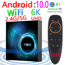 Set-Top-Box Media-Player 128g Wifi Bluetooth Quad-Core Android T95 16g 5g 6k 32GB 64GB