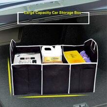 Folding Auto Trunk Organizer Lagerung Tasche Vliesstoffe Verstauen Aufräumen Tasche Organizer Lagerung Box Container Auto Dekoration