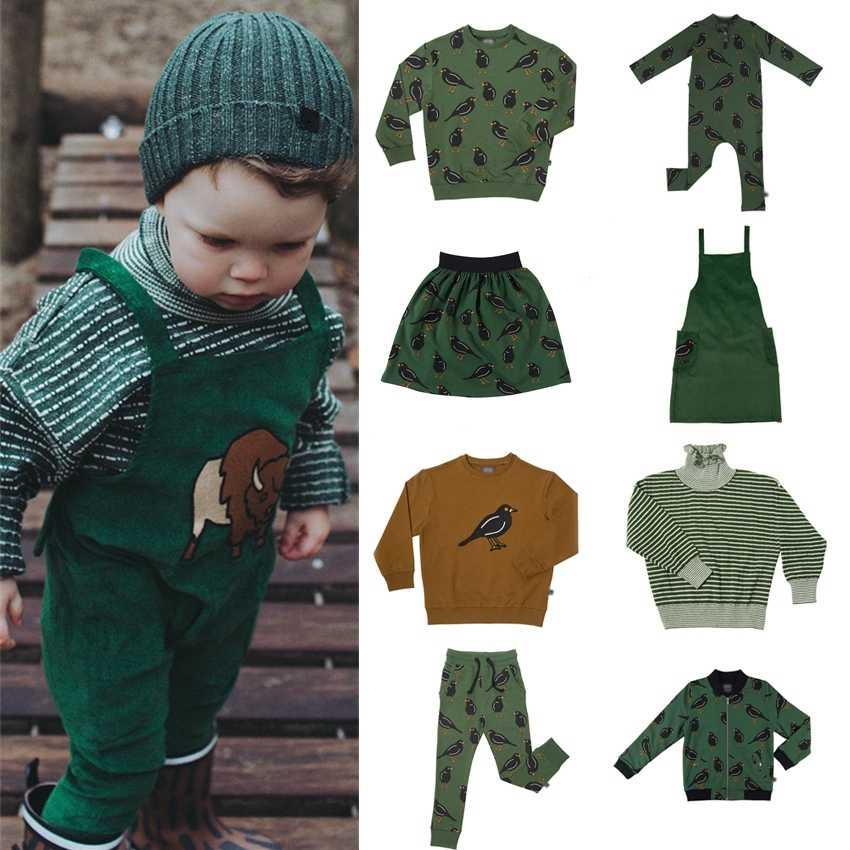 Preventa Carli niñas trajes Acción de Gracias niña pequeña ropa mi primera Navidad niño ropa tapas niñas invierno trajes