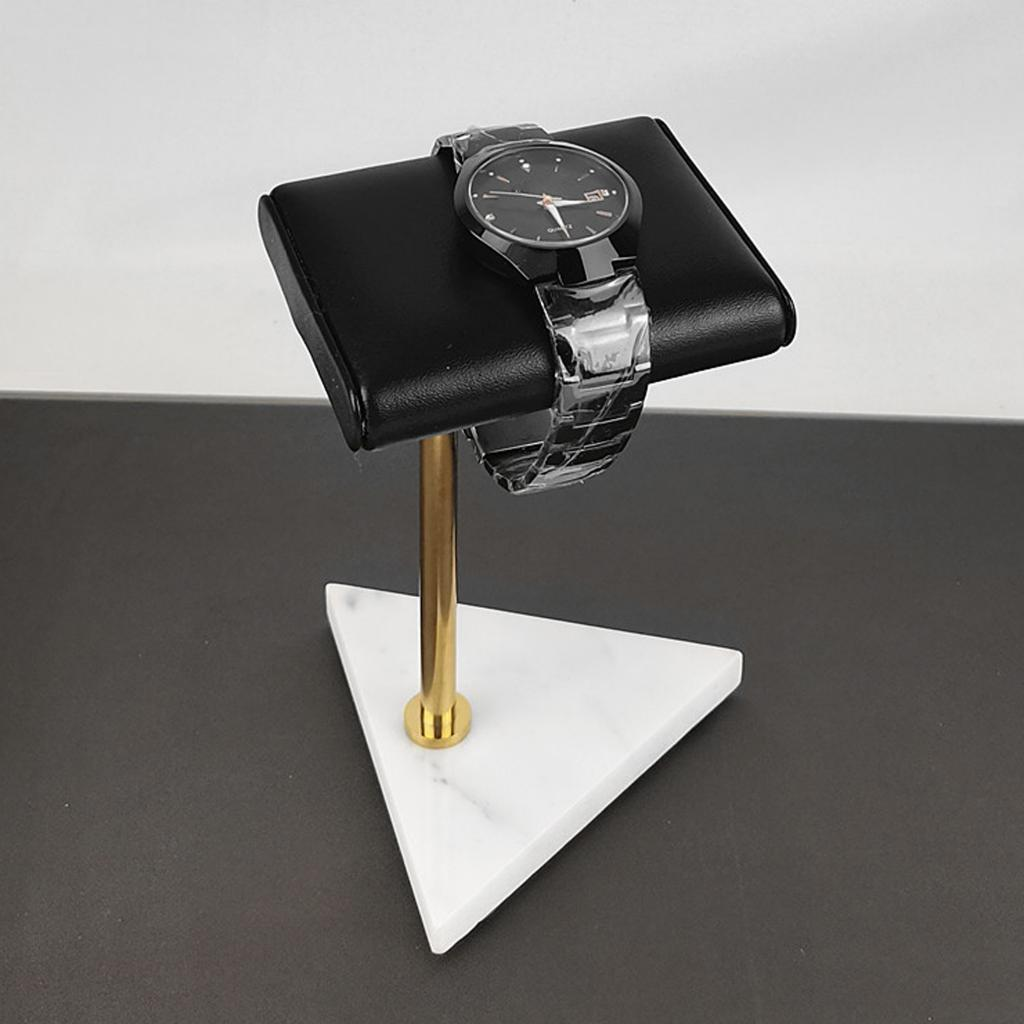 Watch Stand Bracelet Bangle Stand Rest Rack Marble Base Jewelry Holder Organizer