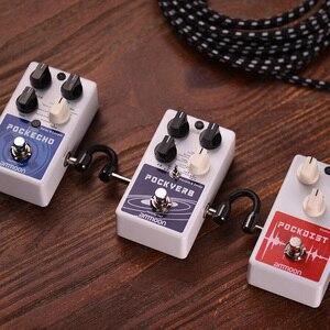 Image 5 - Ammoon POCKVERB Reverb i pedał z efektem Delay do gitary 7 efektów pogłosu + 7 efektów opóźnienia z funkcją Tap Tempo True Bypass