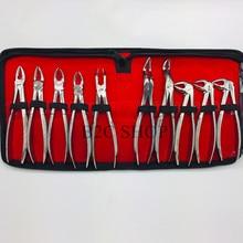 抜歯歯科歯科鉗子スーツ大人 & 子供、子供の歯鉗子鉗子セット歯科用器具はポストを含むプライヤー