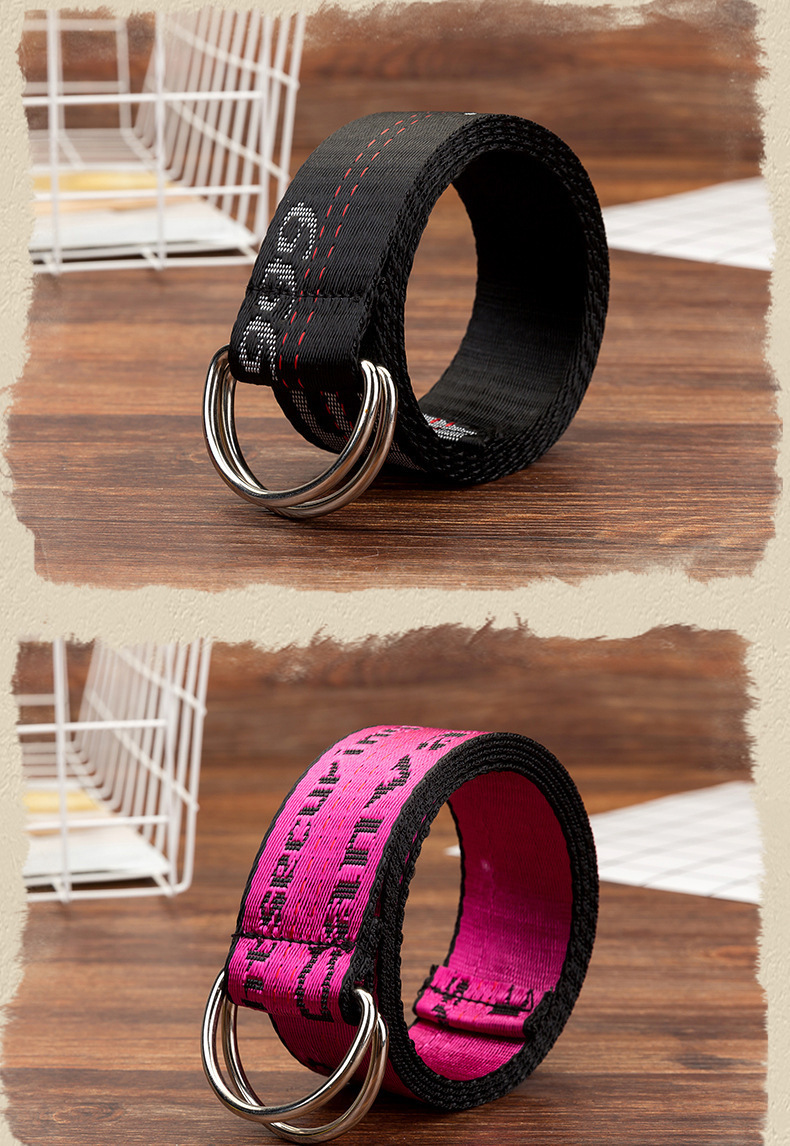 H44ae349a7000499e83590d7426eaf8e1U - Belts Women Fashion Personality Letter KINGSIZE Belts European and American Style High Quality Canvas Belt Big Size Belts