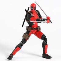 MAFEX NO.082 Deadpool Gurihiru Art Ver. Action Figure Collectible PVC Model Toy