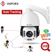 IMPORX 5MP 20X Wireless Auto Tracking PTZ IP Camera Person Detection Humanoid Recognition H.265 IR 120M Tracker Wifi