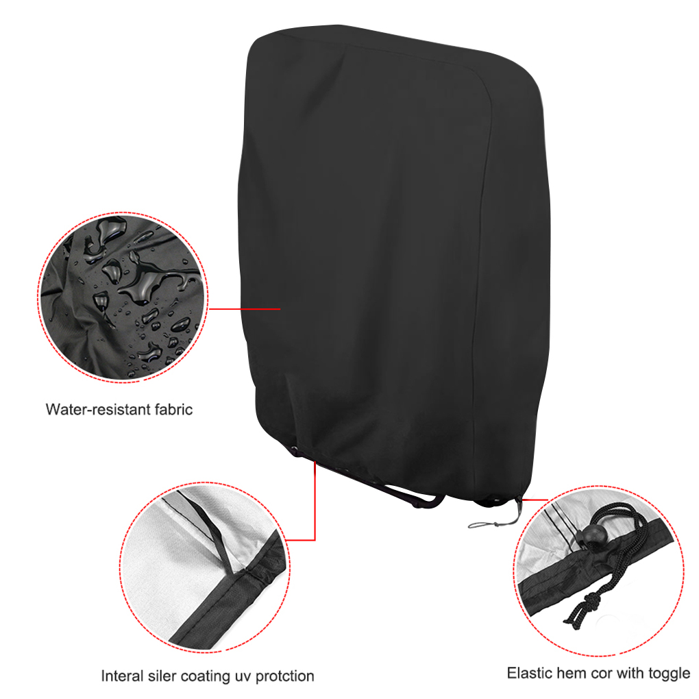 Oxford Waterproof Folding Chair Cover 4 Chair And Sofa Covers