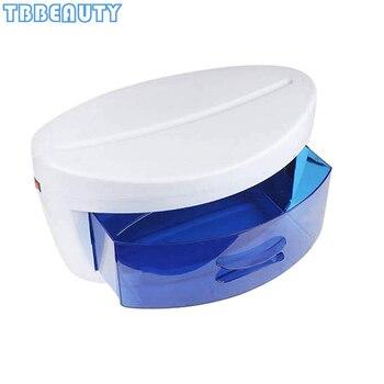 Electric UV Sterilizer Box Disinfection Cabinet Ultraviolet Light Sterilization Nail Art Manicure Tools Beauty Salon Household omysky sterilizer for manicure instruments disinfection esterilizador manicure uv led nail tools nail tweezers disinfector box