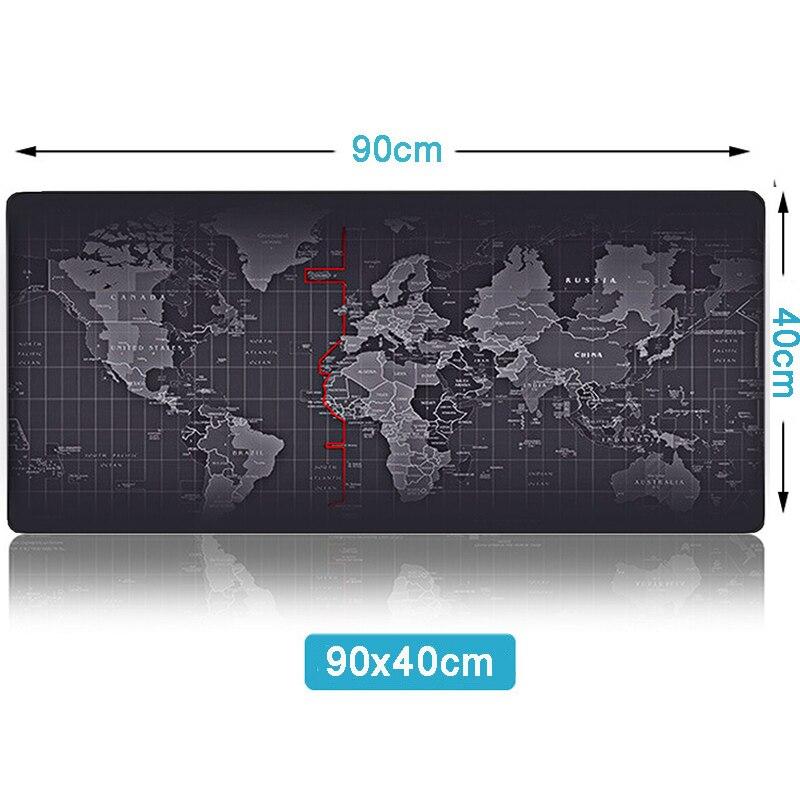 90X40Pad world map