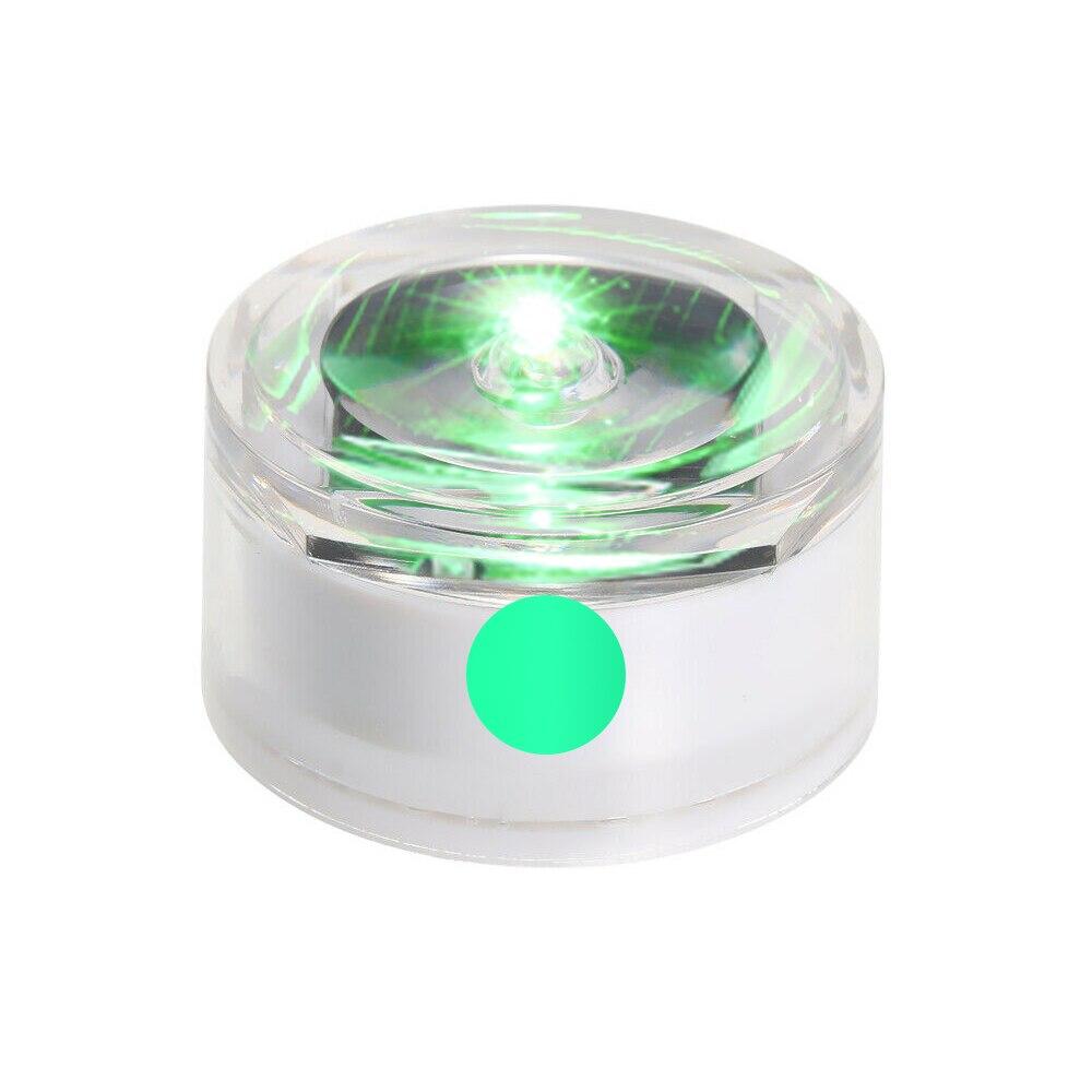 Солнечная Светодиодная лампа для подземного освещения, открытый наземный садовый троп, Напольный Пол, точечный пейзаж, зарытый свет IP67, водонепроницаемый - Испускаемый цвет: green