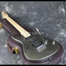 2019 Hot Sell Electric Guitar Z-WW2 Tremolo Bridge Gray Color Maple Fingerboard Cheaper Price Good Quality недорого