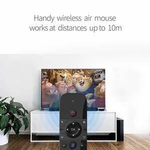 Image 4 - Original W1 PRO mouche Air souris sans fil clavier souris 2.4G rechargeable Mini télécommande pour ordinateur portable intelligent Android TV Box PC