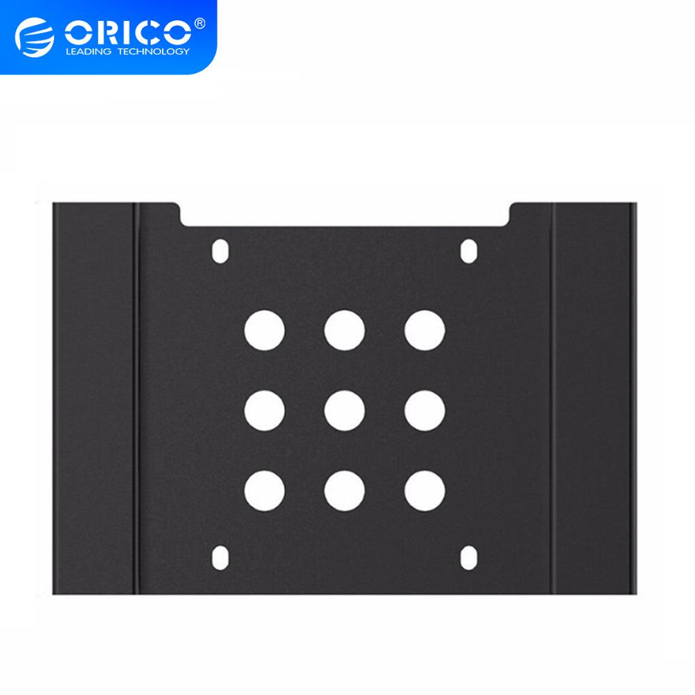 ORICO <font><b>5.25</b></font>-Inch <font><b>to</b></font> 3.5-Inch Aluminum Hard Disk Mounting Bracket Hard Drive Rack SSD Solid Drive Adapter Tray image