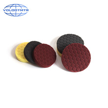 Polishing Pad Car Polish Pads Hexagonal Pattern Type with 6 Inch Hook and Loop Work with Cars Polisher Buffer for Buffing
