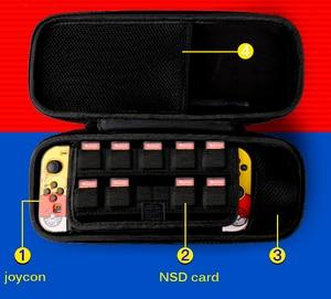 Image 5 - Draagbare EVA Opbergtas Shell Draagtas Voor Nintend Schakelaar Water resistent Pokeball Beschermende Voor NS Console Accessoires