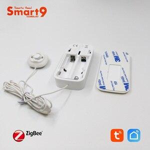 Image 4 - Smart9 ZigBee su kaçak dedektörü çalışma TuYa ZigBee Hub, sel sensörü akülü Alarm akıllı yaşam App